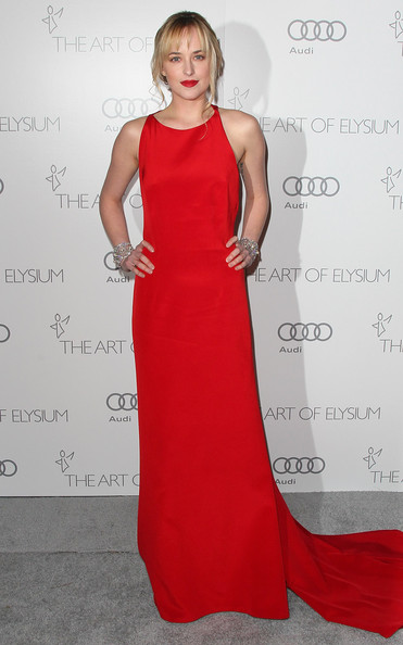 More Pics of Dakota Johnson Evening Dress (1 of 10) - Dakota Johnson Lookbook - StyleBistro