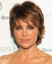 Lisa Rinna must really love her layered razor cut--she's had it for years!