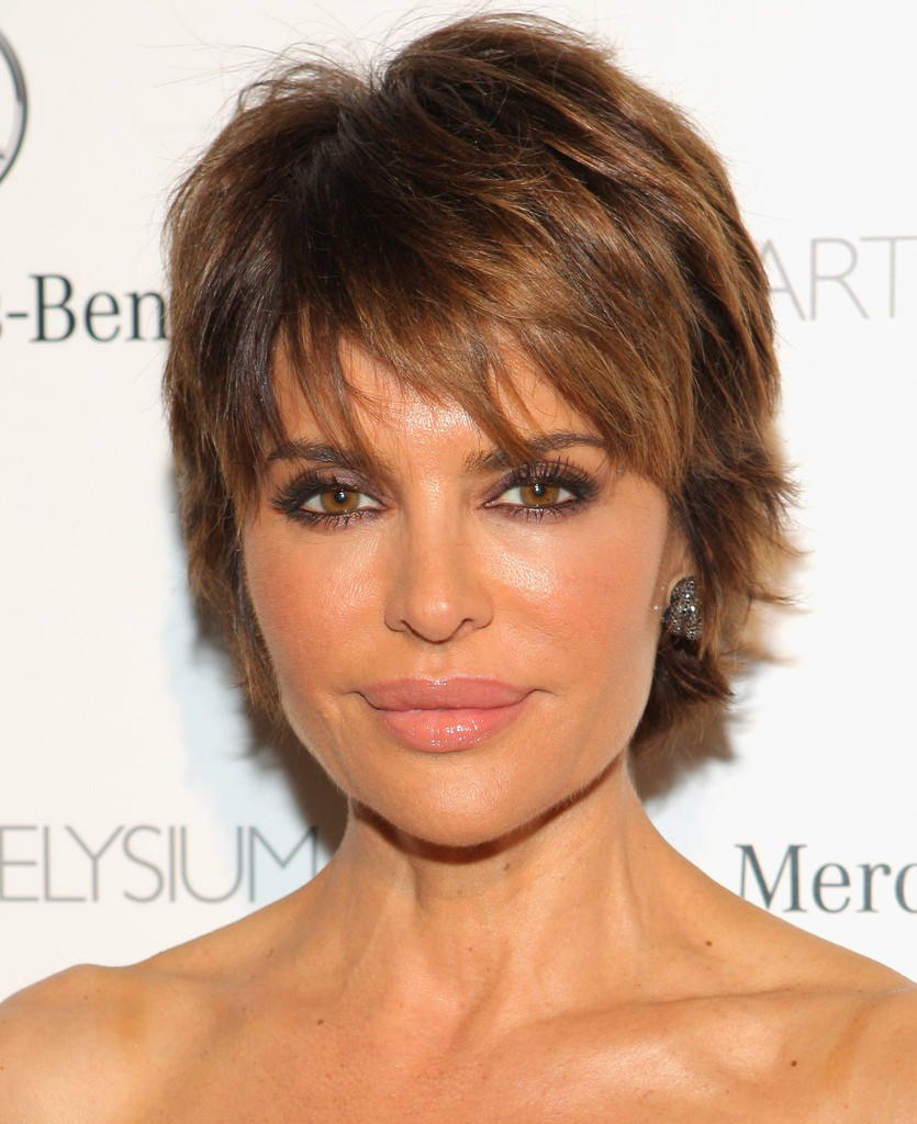 Lisa Rinna S Razor Cut Short Haircuts 30 Great Styles On Older