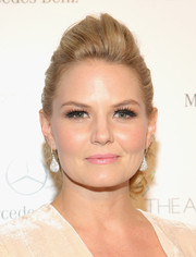Jennifer Morrison teased her hair into a chic pompadour for the Art of Elysium's Heaven Gala.