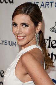 Jamie-Lynn Sigler looked lovely at the Heaven Gala wearing this wavy ponytail.