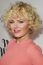 Malin Akerman looked fun and fab at the Heaven Gala wearing her hair in bouncy curls.