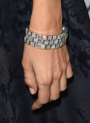 Camilla Belle flaunted a mega-gorgeous diamond bracelet at the Art of Elysium Heaven Gala.