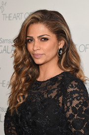Camila Alves wore her thick locks down in a wavy style during the Art of Elysium Heaven Gala.
