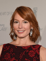 Alicia Witt styled her short locks with feathery waves for the Art of Elysium Heaven Gala.