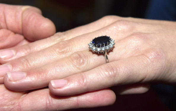 Kate+Middleton in Kate Middleton's Engagement Ring