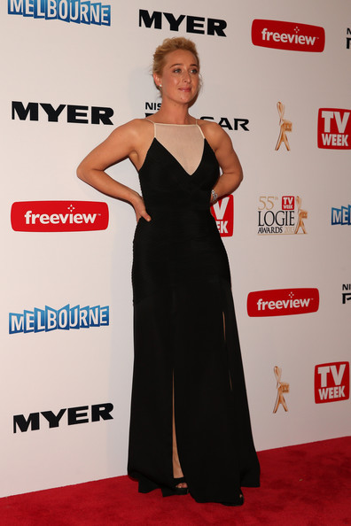 Asher Keddie Evening Dress