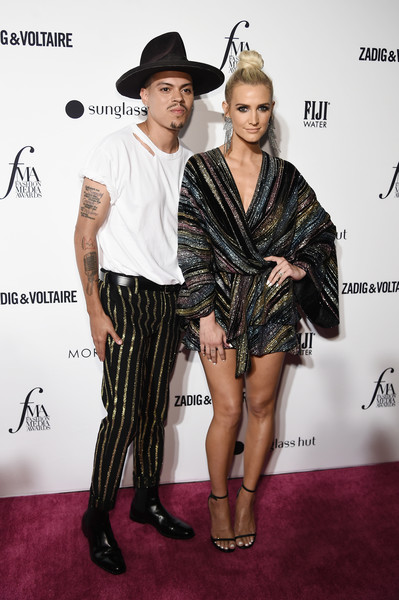 Ashlee Simpson Strappy Sandals [clothing,fashion model,fashion,carpet,dress,footwear,fashion design,cocktail dress,red carpet,leg,ashlee simpson,evan ross,fashion media awards,new york city,daily front row]