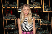Ashley Benson Print Blouse