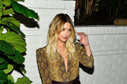 Ashley Benson Satin Clutch