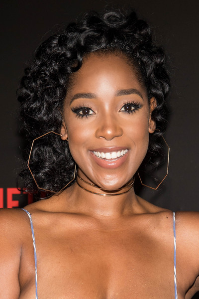Ashley Blaine Featherson Short Curls