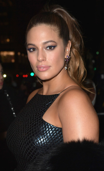 Ashley Graham Ponytail