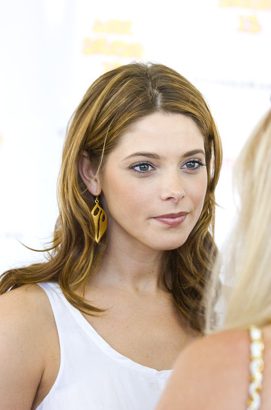 Ashley Greene Leaf Earrings