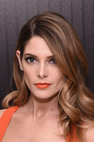 Ashley Greene Bright Lipstick