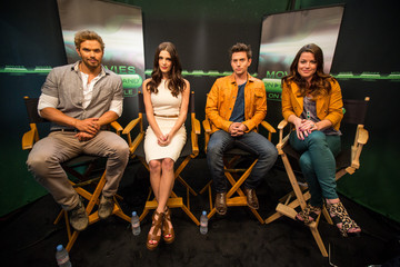 Ashley Greene Jackson Rathbone Ashley Greene, Nikki Reed, Jackson Rathbone, Kellan Lutz, Peter Facinelli & Elizabeth Reaser  Visit The Movies On Demand Lounge