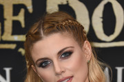 Ashley James Long Partially Braided