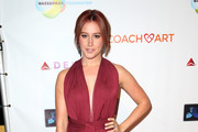 Ashley Tisdale Halter Dress
