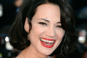 Asia Argento Red Lipstick
