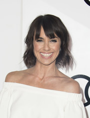Constance Zimmer kept it youthful with this short wavy 'do during Audi's celebration of the Emmys.