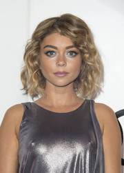 Sarah Hyland was a cutie wearing this curled-out bob during Audi's celebration of the Emmys.