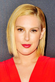Rumer Willis sported a sleek bob at the Audi pre-Emmy celebration.