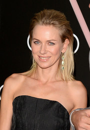 Naomi Watts rocked an edgy-chic teased 'do at the Golden Globes Weekend celebration.