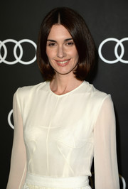 Paz Vega looked timeless with her center-parted bob at the Golden Globes Weekend celebration.