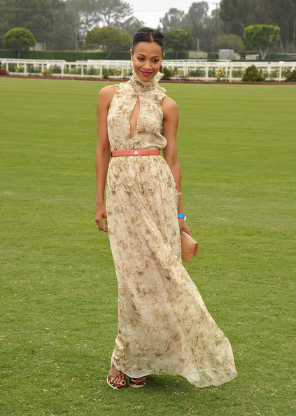 When she epitomized boho chic in this Chloé gown