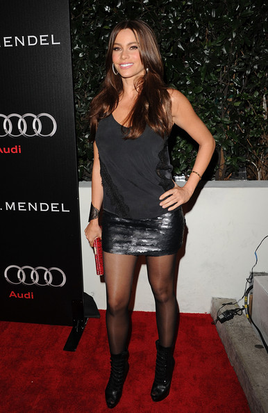 Sofia+Vergara in Audi And J. Mendel Celebrate The 2011 Golden Globe Awards