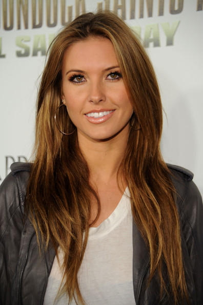 "MTV star Audrina Patridge arrives for the Premiere of ""The Boondock Saints"
