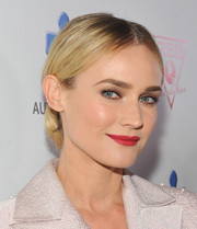 Diane Kruger looked downright gorgeous with her berry lips and luminous skin at the Autism Speaks' Blue Jean Ball.
