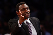 Avery Johnson Plaid Tie