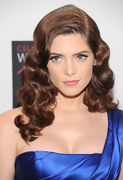 Ashley Greene was stunning with a sweep of black liquid liner to enhance her eyes at the Global Voices for a Change Awards.