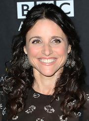Julia Louis-Dreyfus styled her curls in a boho-chic half-up half-down 'do for the BAFTA LA TV Tea.