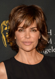 Lisa Rinna attended the BAFTA LA TV Tea wearing her usual layered razor cut.