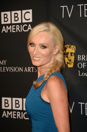 Victoria Smurfit looked lovely with her loose braid at the BAFTA LA TV Tea.