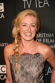 Cat Deeley looked enchanting at the BAFTA LA TV Tea with her loose side braid.