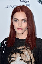 Madeline Brewer attended the BAFTA Los Angeles + BBC America TV Tea Party wearing this straight center-parted 'do.