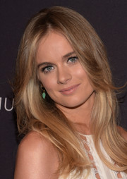 Cressida Bonas wore a face-framing feathered flip at the BAFTA Los Angeles tea party.