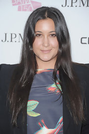 Vanessa Carlton wore her ultra-long hair parted down the center and flowing in long straight strands at the BAM 150th Anniversary Gala.
