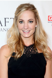 Joanne Froggatt looked lovely with her half-up waves at the BAFTA Los Angeles TV Tea Party.