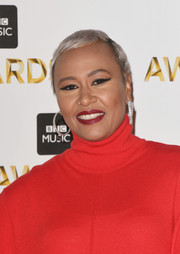 Emeli Sande looked cool with her ice-blonde pixie at the BBC Music Awards.