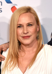 Patricia Arquette looked trendy with her long layered cut at the BBCA BAFTA Tea Party.