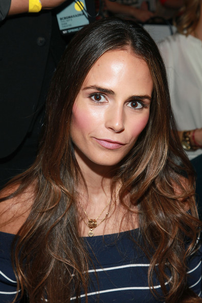 More Pics of Jordana Brewster Pink Lipstick (4 of 13) - Jordana Brewster Lookbook - StyleBistro