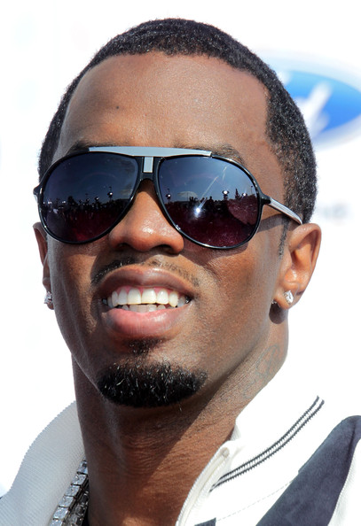 Sean Combs showed off his classic aviator shades while hitting the red carpet at the BET Awards.
