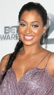 La La Anthony pulled her hair back in a lovely side braid for the 2012 BET Awards.