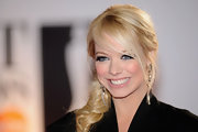 Liz Mcclarnon looked entrancing at the BRIT Awards with her hair in a loose braid.