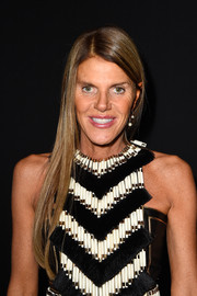 In contrast to her outrageous outfits, Anna dello Russo has always opted for tame hairstyles like this.