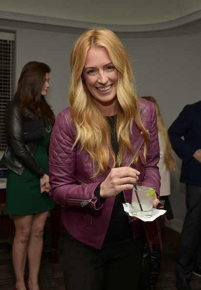 More Pics of Cat Deeley Leather Jacket (1 of 9) - Cat Deeley Lookbook - StyleBistro