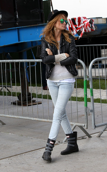 More Pics of Millie Mackintosh Motorcycle Boots (1 of 1) - Motorcycle Boots Lookbook - StyleBistro